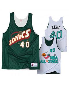 Shawn Kemp 40 Seattle Supersonics All Star 1996 Mitchell & Ness obojestranski Mesh Tank Top