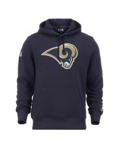 Los Angeles Rams New Era Team Logo pulover sa kapuljačom