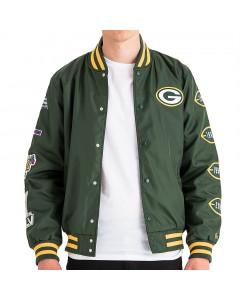 Green Bay Packers New Era Champion Varsity Bomber jakna