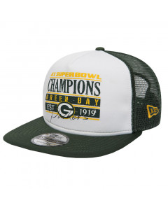 Green Bay Packers New era 9FIFTY Champions Trucker kapa