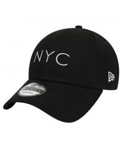 New Era 9FORTY Essential NYC Black kapa