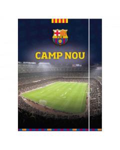 FC Barcelona Camp Nou Mappe mit Elastikband