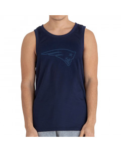 New England Patriots New Era Tonal Logo majica brez rokavov