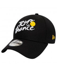 Tour de France 2019 New Era 39THIRTY Essential Black Mütze
