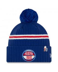 Philadelphia 76ers New Era 2019 NBA Draft Authentics Wintermütze