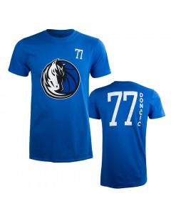Luka Dončić 77 Dallas Mavericks Standing Tall T-Shirt