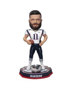 Julian Edelmann 11 New England Patriots SB LIII Champion MVP Bobblehead figura