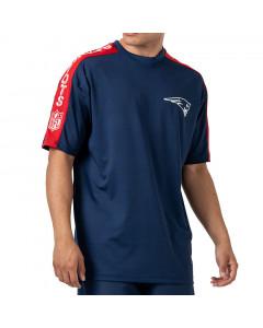 New England Patriots New Era Raglan Shoulder Print majica