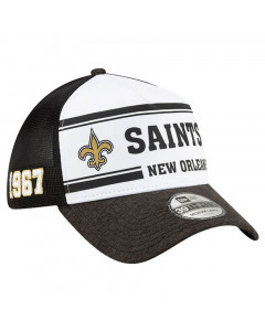New Orleans Saints New Era 39THIRTY 2019 NFL Official Sideline Home 1967s Mütze