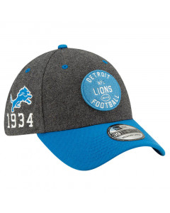 Detroit Lions New Era 39THIRTY 2019 NFL Official Sideline Home 1934s Mütze