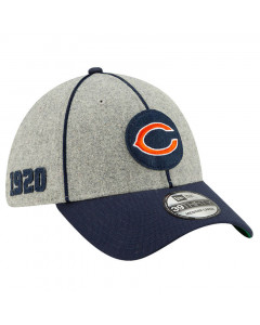 Chicago Bears New Era 39THIRTY 2019 NFL Official Sideline Home 1920s Mütze