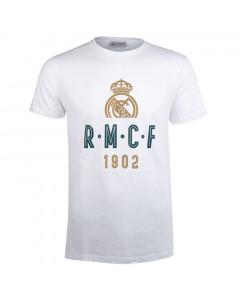 Real Madrid White T-Shirt  N°41