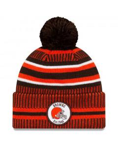 Cleveland Browns New Era 2019 NFL Official On-Field Sideline Cold Weather Home Sport 1946 zimska kapa