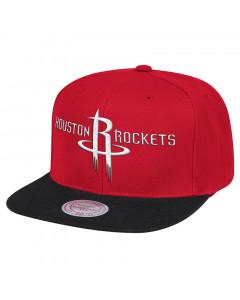 Houston Rockets Mitchell & Ness Team Logo 2 Tone Mütze