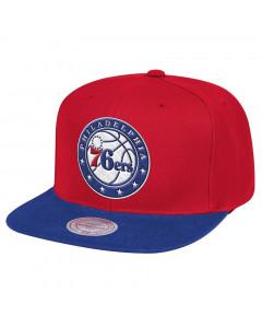 Philadelphia 76ers Mitchell & Ness Team Logo 2 Tone Mütze