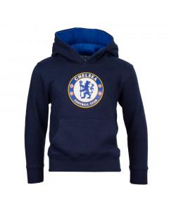 Chelsea Crest otroški pulover s kapuco