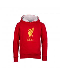 Liverpool Crest dječji pulover sa kapuljačom