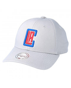 Los Angeles Clippers Mitchell & Ness Team Logo Low Pro kapa