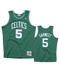 Kevin Garnett 5 Boston Celtics 2007-08 Mitchell & Ness Road Swingman dres