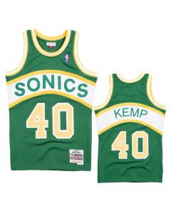 Shawn Kemp 40 Seattle Supersonics 1994-95 Mitchell & Ness Road Swingman dres