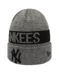 New York Yankees New Era Marl Cuff Wintermütze