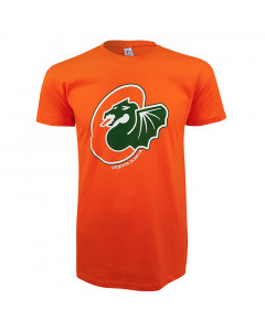 KK Cedevita Olimpija majica logo oranžna