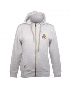 Real Madrid N°5 Damen Kapuzenjacke