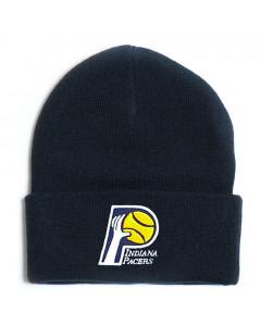Indiana Pacers Mitchell & Ness Team Logo Cuff Wintermütze