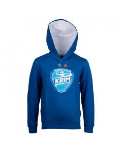 RK Krim Mercator otroški pulover s kapuco