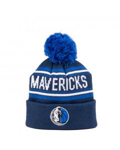 Dallas Mavericks Cuff Pom Kids otroška zimska kapa 52-58 cm