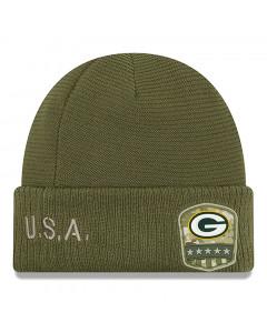 Green Bay Packers New Era 2019 On-Field Salute to Service zimska kapa