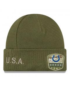 Indianapolis Colts New Era 2019 On-Field Salute to Service zimska kapa