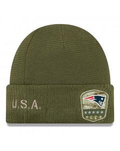 New England Patriots New Era 2019 On-Field Salute to Service zimska kapa