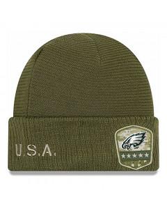 Philadelphia Eagles New Era 2019 On-Field Salute to Service Wintermütze