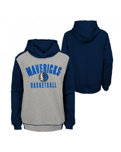 Dallas Mavericks Youth Retro Block pulover s kapuco