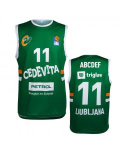KK Cedevita Olimpija replika dres (poljubni tisk)