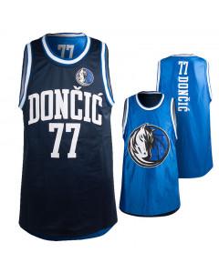 Luka dončić 77 Dallas Mavericks Pure Shooter Tank obojestranski dres