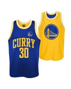 Stephen Curry 30 Golden State Warriors Pure Shooter Tank Trikot beidseitig tragbar