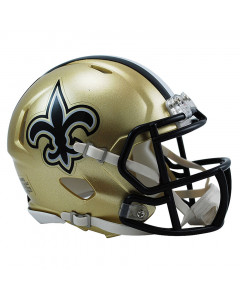 New Orleans Saints Riddell Speed Mini Helm