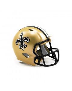 New Orleans Saints Riddell Pocket Size Single Helm