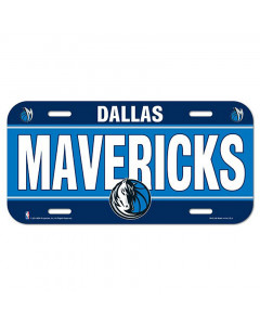 Dallas Mavericks Auto Schild