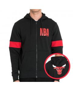 Chicago Bulls New Era zip majica sa kapuljačom