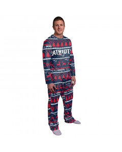 New England Patriots Wordmark Crewneck pižama