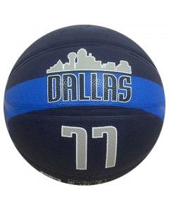 Luka Dončić 77 Dallas Mavericks Spalding košarkarska žoga