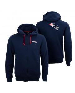 New England Patriots Oversized Split Print Zip Thru jopica s kapuco