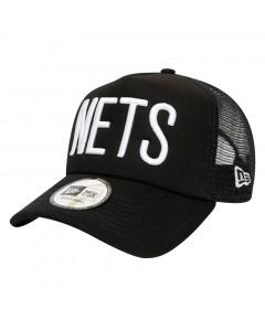 Brooklyn Nets New Era Trucker A-Frame Colour Block kapa