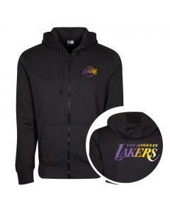 Los Angeles Lakers New Era Gradient Wordmark Kapuzenjacke