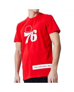 Philadelphia 76ers New Era Block Wordmark T-Shirt