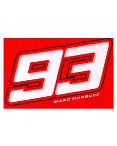 Marc Marquez MM93 Big Number zastava 140x90 cm