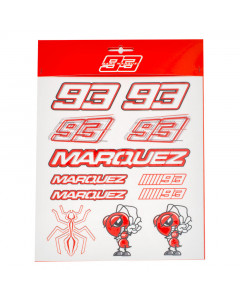 Marc Marquez MM93 Big Aufkleber